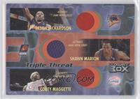 Jason Richardson, Shawn Marion, Corey Maggette /75