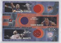 Jason Richardson, Shawn Marion, Corey Maggette /450