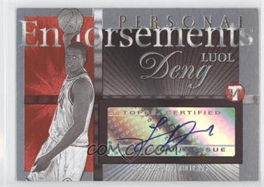 2004-05 Topps Pristine - Personal Endorsements #PE-LD - Luol Deng