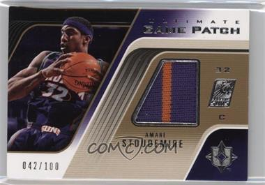 2004-05 Ultimate Collection - Ultimate Game Patch #UGP-AS - Amar'e Stoudemire /100