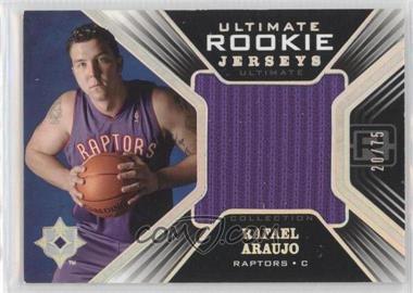 2004-05 Ultimate Collection - Ultimate Rookie Jerseys - Limited #URJ-RA - Rafael Araujo /75