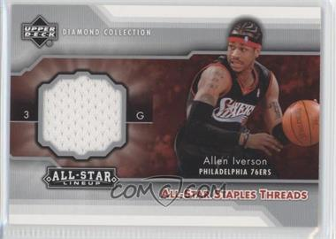 2004-05 Upper Deck All-Star Lineup - All-Star Staples Threads #STT-AI - Allen Iverson