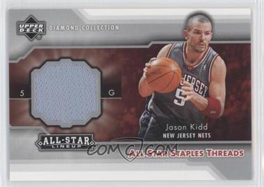 2004-05 Upper Deck All-Star Lineup - All-Star Staples Threads #STT-JK - Jason Kidd