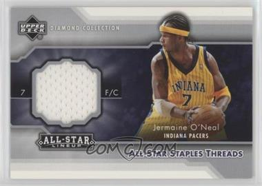 2004-05 Upper Deck All-Star Lineup - All-Star Staples Threads #STT-JO - Jermaine O'Neal