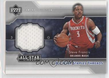 2004-05 Upper Deck All-Star Lineup - All-Star Staples Threads #STT-SF - Steve Francis