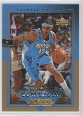 2004-05 Upper Deck All-Star Lineup - [Base] - Gold Honors #19 - Carmelo Anthony /100