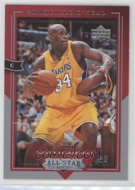 2004-05 Upper Deck All-Star Lineup - [Base] #43 - Shaquille O'Neal