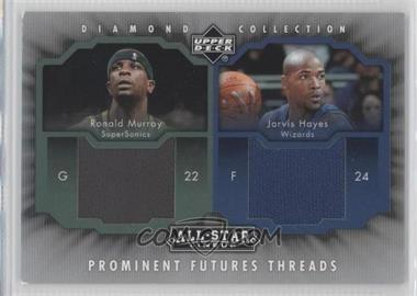 2004-05 Upper Deck All-Star Lineup - Prominent Futures Threads #PFT-MH - Ronald Murray, Jarvis Hayes