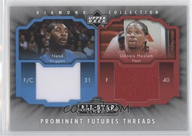 2004-05 Upper Deck All-Star Lineup - Prominent Futures Threads #PFT-NH - Udonis Haslem, Nenê