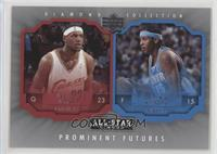 LeBron James, Carmelo Anthony