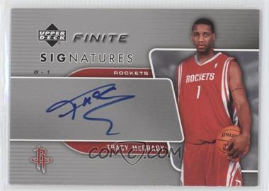 a7a5b2bae8de 2004-05 Upper Deck Finite - Redemption Replacements Signatures -   Autographed   FS-TM - Tracy McGrady