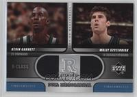 Kevin Garnett, Wally Szczerbiak