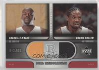 Shaquille O'Neal, Udonis Haslem