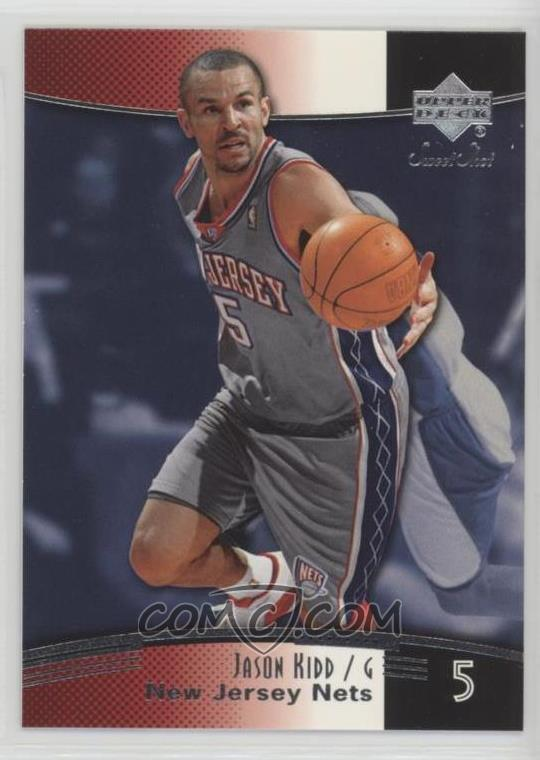 2004-05 Upper Deck Sweet Shot - [Base] #54 - Jason Kidd