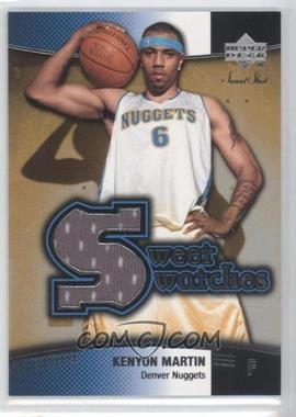 2004-05 Upper Deck Sweet Spot - Sweet Swatches #SW-KM - Kenyon Martin
