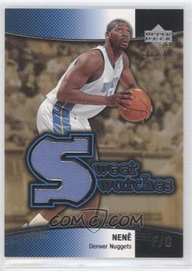 2004-05 Upper Deck Sweet Spot - Sweet Swatches #SW-NH - Nene
