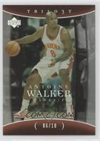 Antoine Walker #/10