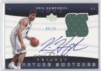 Kris Humphries /25