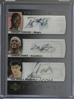 Yao Ming, Dwight Howard, LeBron James /10