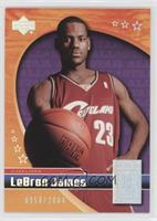 Lebron James #/2,004