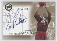 Tim Pickett /100