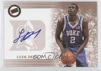 Luol Deng (Blue Ink)