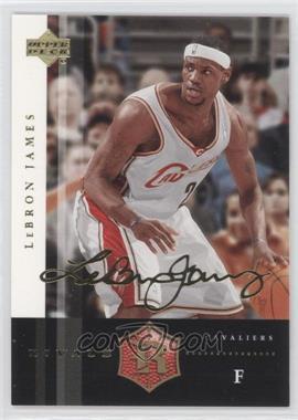 2004 Upper Deck Rivals - [Base] - Facsimile Autograph #11 - Lebron James
