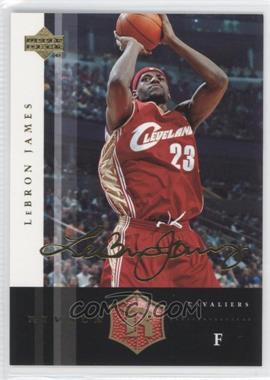 2004 Upper Deck Rivals - [Base] - Facsimile Autograph #12 - Lebron James