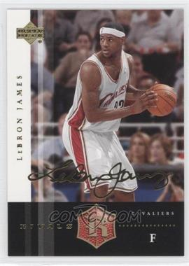 2004 Upper Deck Rivals - [Base] - Facsimile Autograph #13 - Lebron James