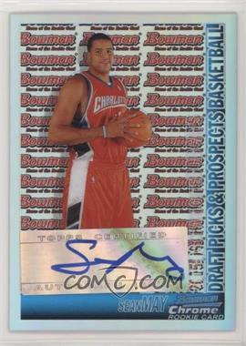 2005-06 Bowman Draft Picks & Prospects - [Base] - Chrome Refractor #160 - Sean May /50
