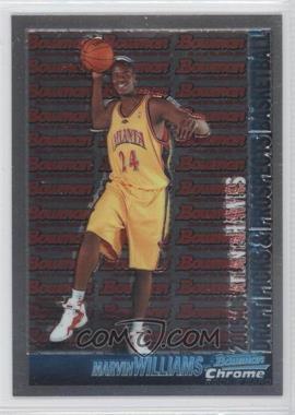 2005-06 Bowman Draft Picks & Prospects - [Base] - Chrome #140 - Marvin Williams