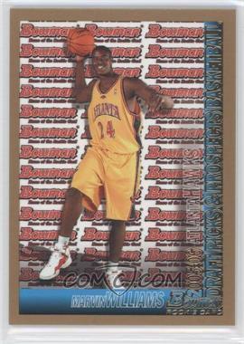 2005-06 Bowman Draft Picks & Prospects - [Base] - Gold #140 - Marvin Williams