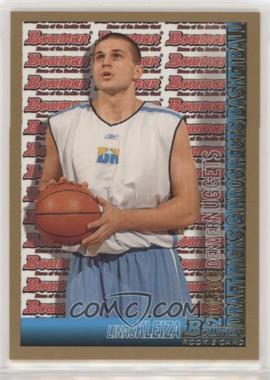 2005-06 Bowman Draft Picks & Prospects - [Base] - Gold #144 - Linas Kleiza