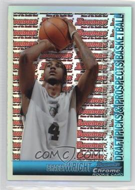 2005-06 Bowman Draft Picks & Stars - Chrome - Refractor #139 - Bracey Wright /300