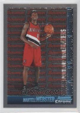 2005-06 Bowman Draft Picks & Stars - Chrome #133 - Martell Webster
