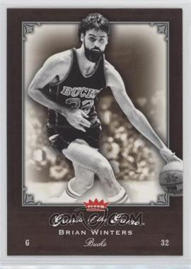 2005-06 Fleer Greats of the Game - [Base] #15 - Brian Winters