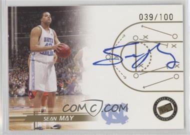 2005-06 Press Pass - Autographs - Gold #SEMA - Sean May /100
