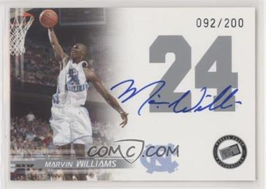 2005-06 Press Pass - Autographs - Silver #MAWI - Marvin Williams /200