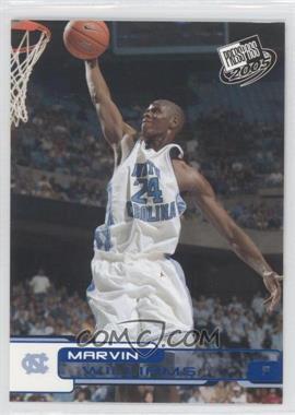 2005-06 Press Pass - [Base] - Blue #B38 - Marvin Williams