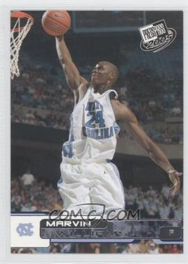 2005-06 Press Pass - [Base] #38 - Marvin Williams