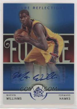 2005-06 Reflections - [Base] - Blue #144-A - Marvin Williams /50