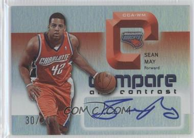 2005-06 Reflections - Compare and Contrast Autographs #CCA-WM - Sean May, Marvin Williams /30