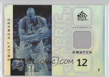 2005-06 Reflections - Fabric Reflections Swatch #FR-DH - Dwight Howard