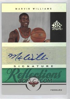 2005-06 Reflections - Signature Reflections - Green #SR-MA - Marvin Williams /25