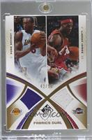 Kobe Bryant, LeBron James [EX to NM] #/50