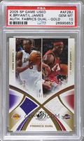 Kobe Bryant, Lebron James /50 [PSA10]