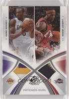 Kobe Bryant, LeBron James #/15