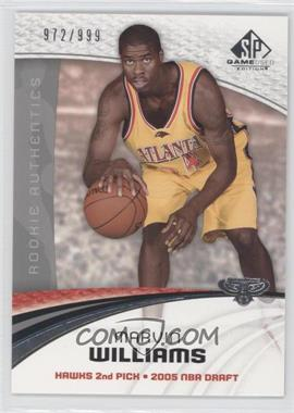 2005-06 SP Game Used Edition - [Base] #144 - Marvin Williams /999