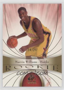 2005-06 SP Signature Edition - [Base] - Gold #102 - Marvin Williams /25