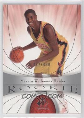 2005-06 SP Signature Edition - [Base] #102 - Marvin Williams /499